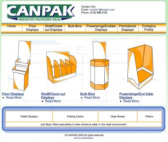 Canpak Displays